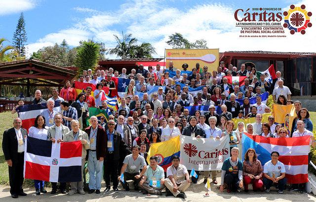 Caritas Latin America regional congress in Guarne, Colombia