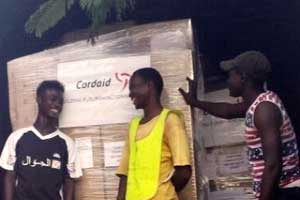Cordaid has sent health kits and other supplies to fight Ebola in Sierra Leone. Photo by Cordaid