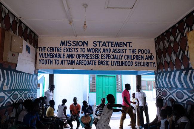 El Centro para el Desarrollo de la Infancia de Bolgatana
