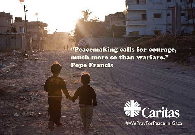Pape François : « il faut plus de courage pour faire la paix, que pour la guerre »