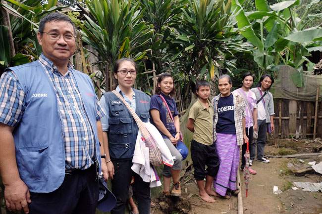 COERR, the Catholic Office for Emergency Relief & Refugees, works in refugee camps along the Thai-Myanmar border
