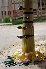 Caritas a rejoint les villageois locaux pour prier pour les victimes du tsunami.