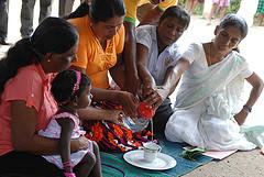 Caritas marque les 10 ans écoulés depuis le tsunami survenu en Asie en prenant part à des célébrations religieuses locales marquant  le 10ème anniversaire de cette catastrophe. width=
