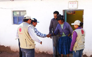Caritas Peru helps most vulnerable communities in the remote highlands of Peru, most affected by extreme climates. Photo by Caritas Peru