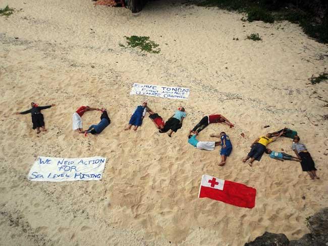 Tonga on COP20
