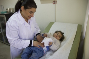 Caritas is one of the only organisations in Lebanon supporting medical fees. Credit: Tabitha Ross/Caritas