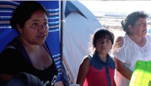 Caritas Chile say people need drinking water, food, hygiene items, clothes and help cleaning up their homes.