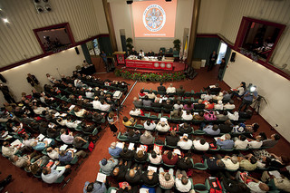 Caritas General Assembly in 2011. Photo by Caritas/Elodie Perriot