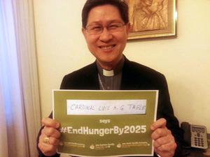 Cardinal Luis Antonio Tagle of Manila, Philippines