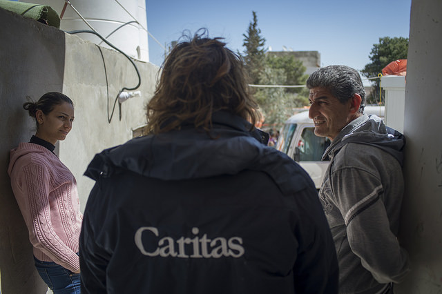 A camp for Iraqi refugees in Madaba in Jordan supported by Caritas. Elodie Perriot/Secours Cathoqlie.