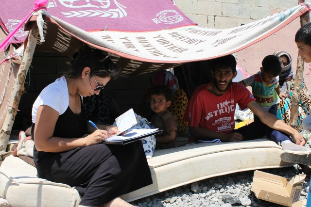 The trauma of the war, both physical and mental, were clearly visible to Caritas staff.  Credit: Caritas Turkey