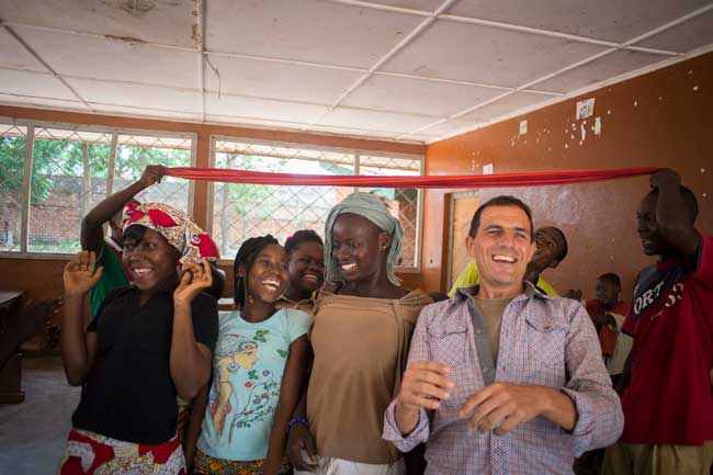 Caritas has been funding community peacebuilding efforts and plans to create 'youth peacemakers' to improve relations. Photo by Elodie Perriot/Caritas
