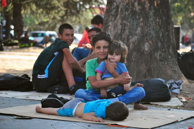 Over 4000 of those registered in Serbia are unaccompanied minors. Credit: Caritas Serbia