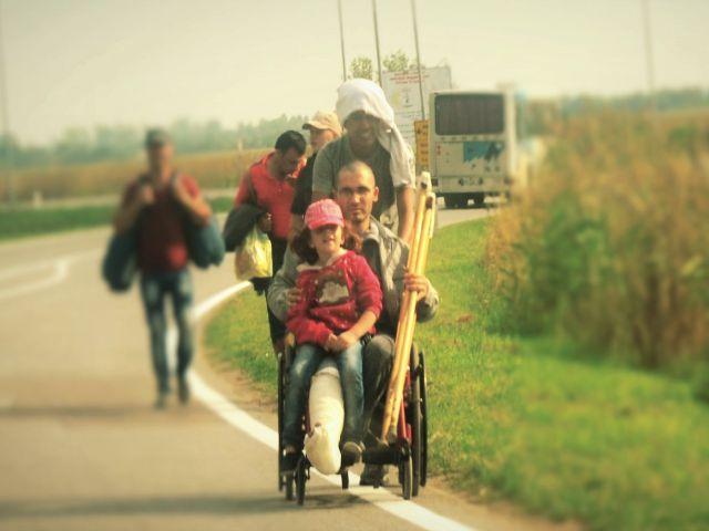 Refugiados y migrantes en Subotica y Kanjiza, a la espera de salir por norte de Serbia hacia Hungría. Daniele Bombardi / Caritas Italiana