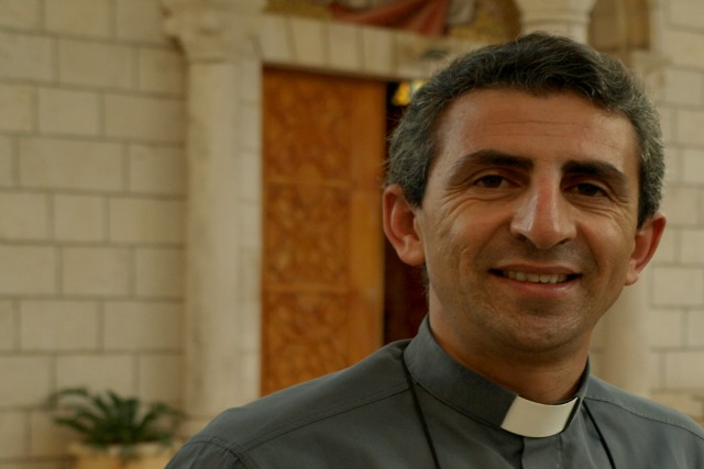 """End the occupation as soon as possible, once and for all,""said Caritas Jerusalem director Fr. Raed Abusahlia. ""Give hope to both sides instead of a situation of despair in which we are currently living."""