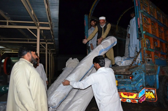 Caritas will provide immediate shelter and warm bedding to 1200 families who survived a deadly earthquake this week in the Hindu Kush region. Credit: /Caritas Pakistan