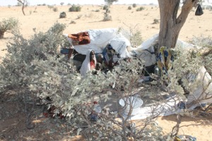 Miles de personas viven a la intemperie en Diffa, en el que tienen poco acceso a la ayuda y se enfrentan a un clima severo. Foto de Caritas Níger.