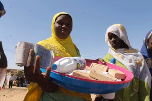 Caritas is providing cash for food and hygiene kits, mosquito nets and water conservation equipment to 15,000 people. Credit: Caritas Niger
