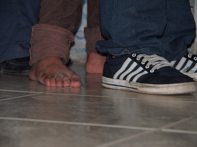 Dignity, values and rights for migrants in Mexico. At the House of Charity in San Luis Potosi, Caritas provides a resting place for thousands of migrants, some of them arrived on foot. Photo by Worms/Caritas