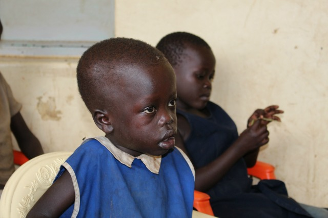 The South Sudan conflict has put 3 million children at risk of malnutrition & disease. Credit: Caritas Austria
