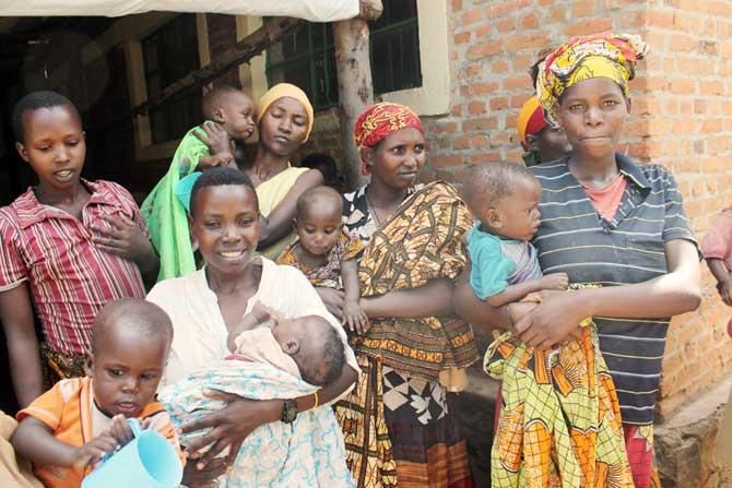 One Caritas family in Mahama Refugee Camp, Rwanda
