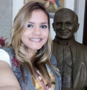 Annielyt Romero of Caritas Venezuela