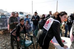 Caritas Lebanon registering Syrian refugees seeking shelter. Copyright: Caritas Switzerland
