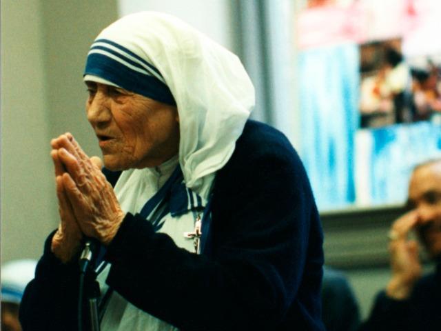 Mother Teresa visits CRS, Caritas member in the USA. Credit: CRS