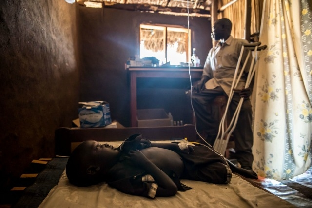 Caritas is also working with refugees fleeing hunger and conflict in South Sudan. Credit: Tommy Trenchard/Caritas