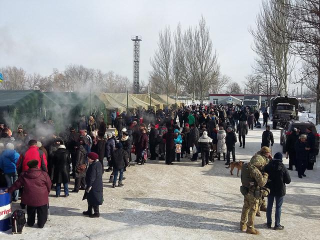 Caritas Ukraine has deployed an emergency team in Avdiivka