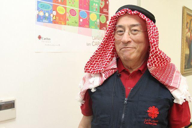 Le Cardinal Rodriguez rend visite aux refugies syriens en Jordanie