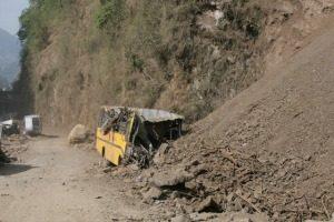 Népal : La route de la désolation