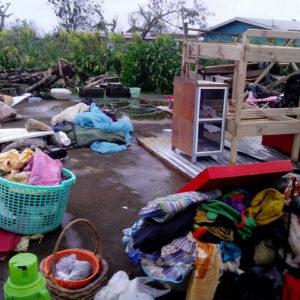 Déblayer le Vanuatu après la tempête