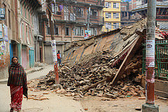 Heartbreaking scenes in Nepal