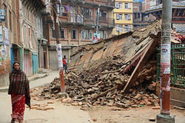 Heartbreaking scenes in Nepal
