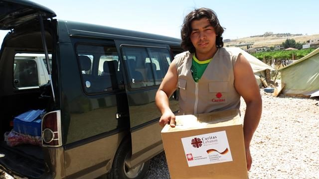Caritas Lebanon comes to aid of Syrian refugees