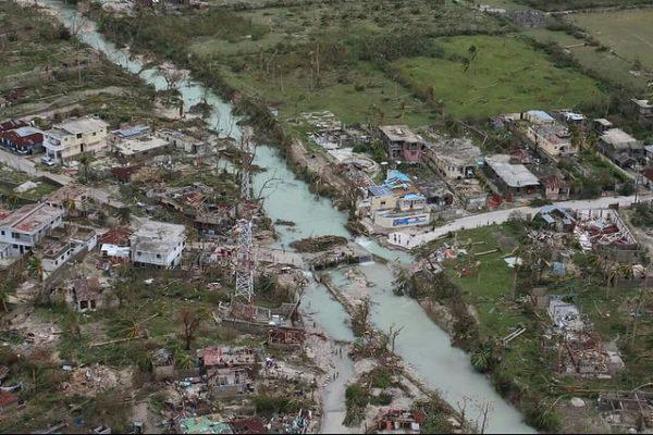 Llamamiento para Haití, asolado por un huracán