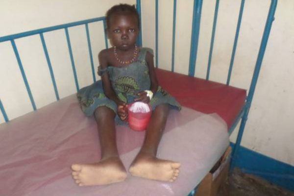 South Sudan famine: I write with tears in my eyes