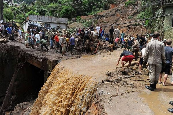 Brazil hit by worst floods and landslides in 40 years