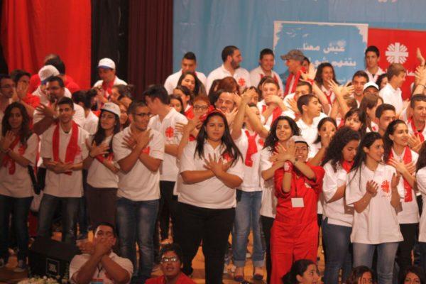 Caritas Lebanon celebrates its young volunteers