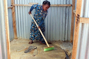 Sensibilización sobre la higiene para los refugiados somalíes en Kenia