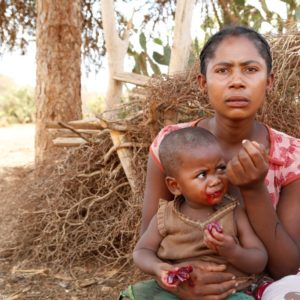 Hunger crisis in southern Madagascar
