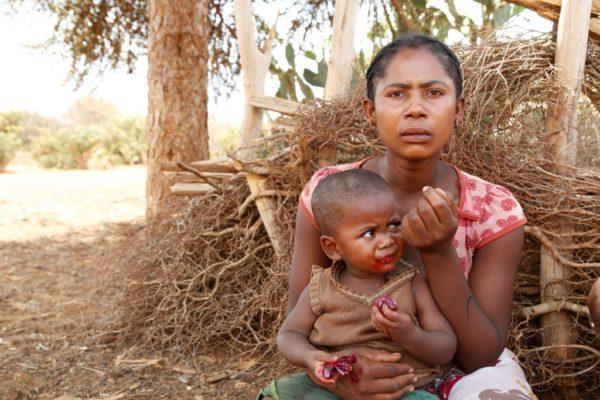 Crisis de hambre en el sur de Madagascar
