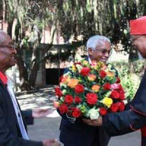 Cardinal etíope recibe al hombre que lo encarceló