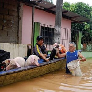 Caritas Peru helps following floods