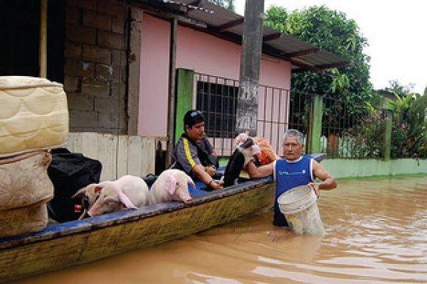 Caritas Pérou lance la campagne d'aide aux sinistrés des inondations  survenues dans la jungle