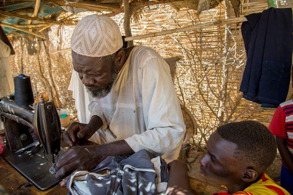 Lanzar un salvavidas a Darfur