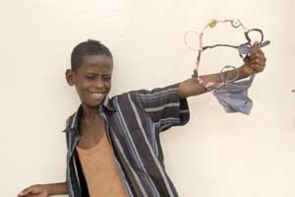 Une enfance passee dans la rue  à Djibouti