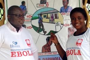 Church networks battle Ebola