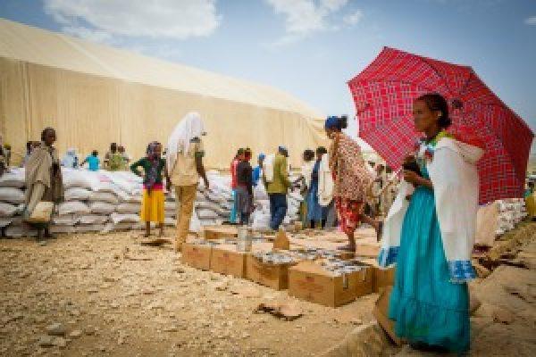 Etiopía afectada por la sequía y la escasez de alimentos